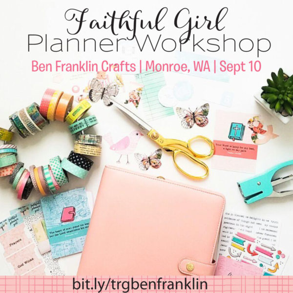 FAITHFUL GIRL PLANNER WORKSHOP