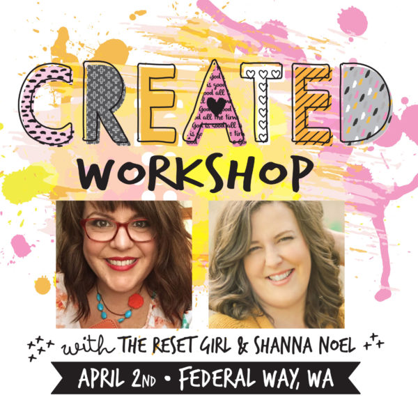 Cori Spieker + Shanna Noel = CREATED Workshop