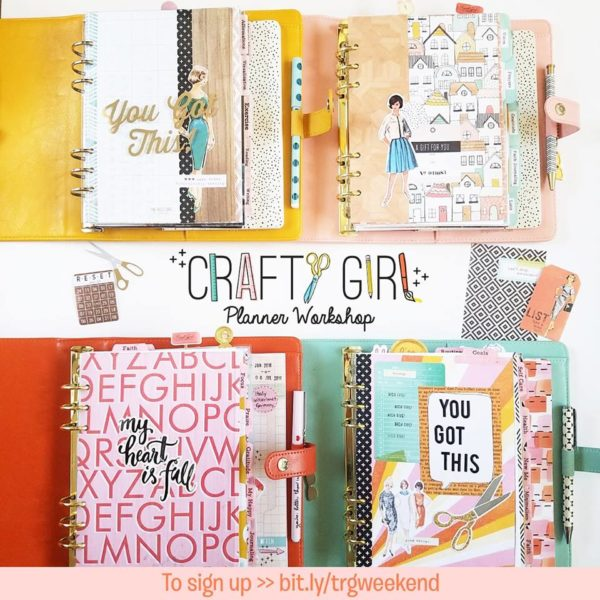 CRAFTY GIRL PLANNER WORKSHOP