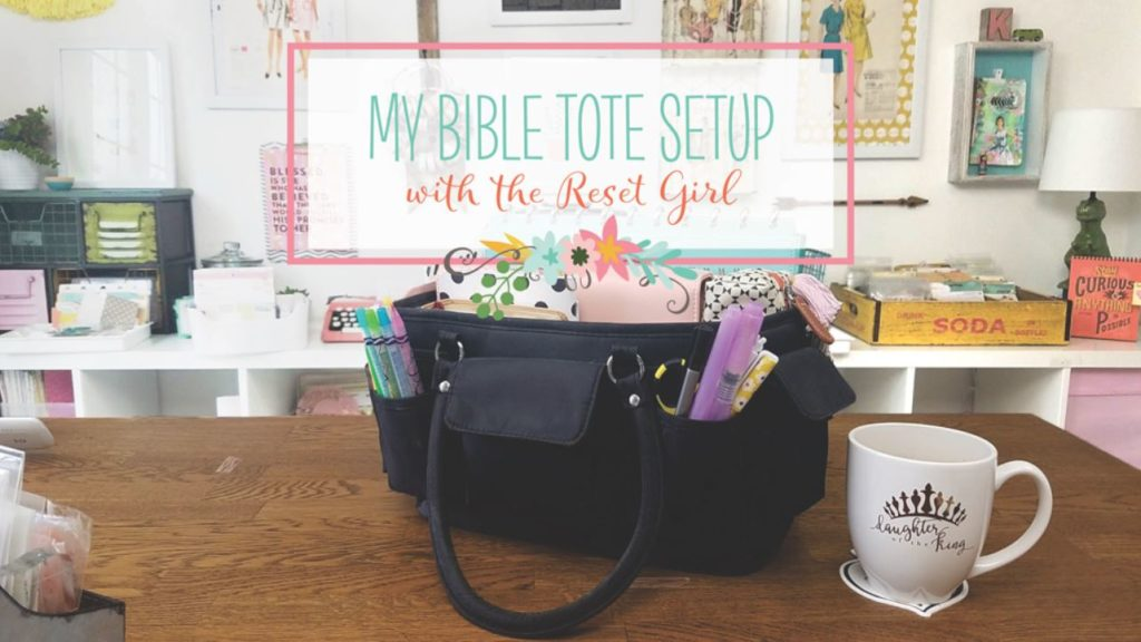 YouTube Video – What's In My Bible Tote