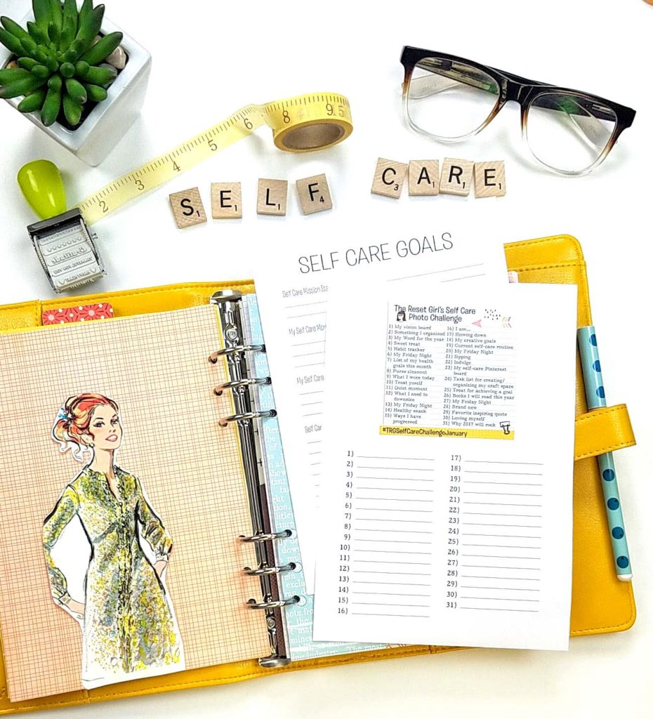 January's Self-Care Challenge is All About the RESET