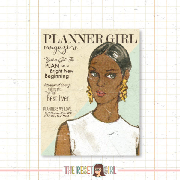 Cover >> Planner Girl Liz