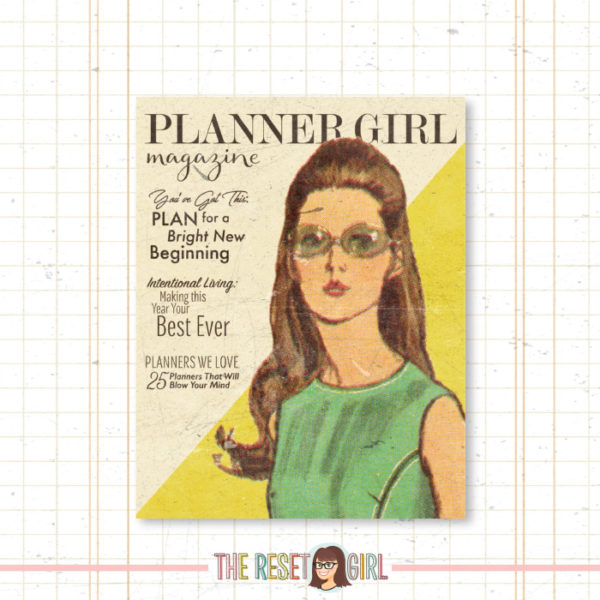Cover >> Planner Girl Margot