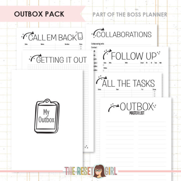 Inserts >> Boss: Outbox