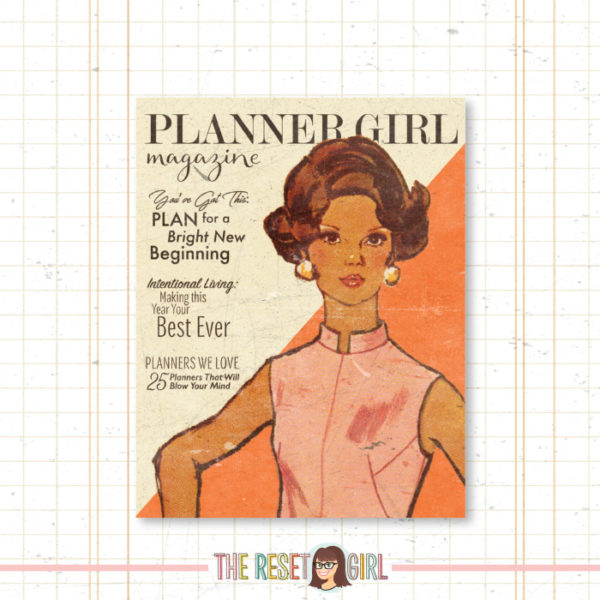 Cover >> Planner Girl Rhonda