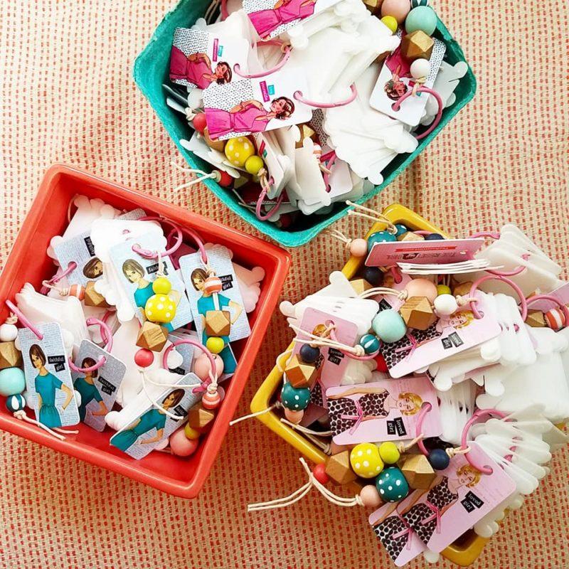 Mini Washi Rings for Workshops
