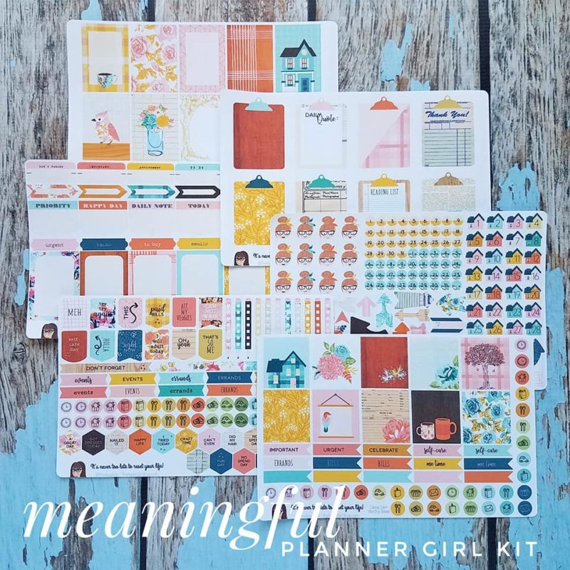 Meaningful Planner GIrl Kit
