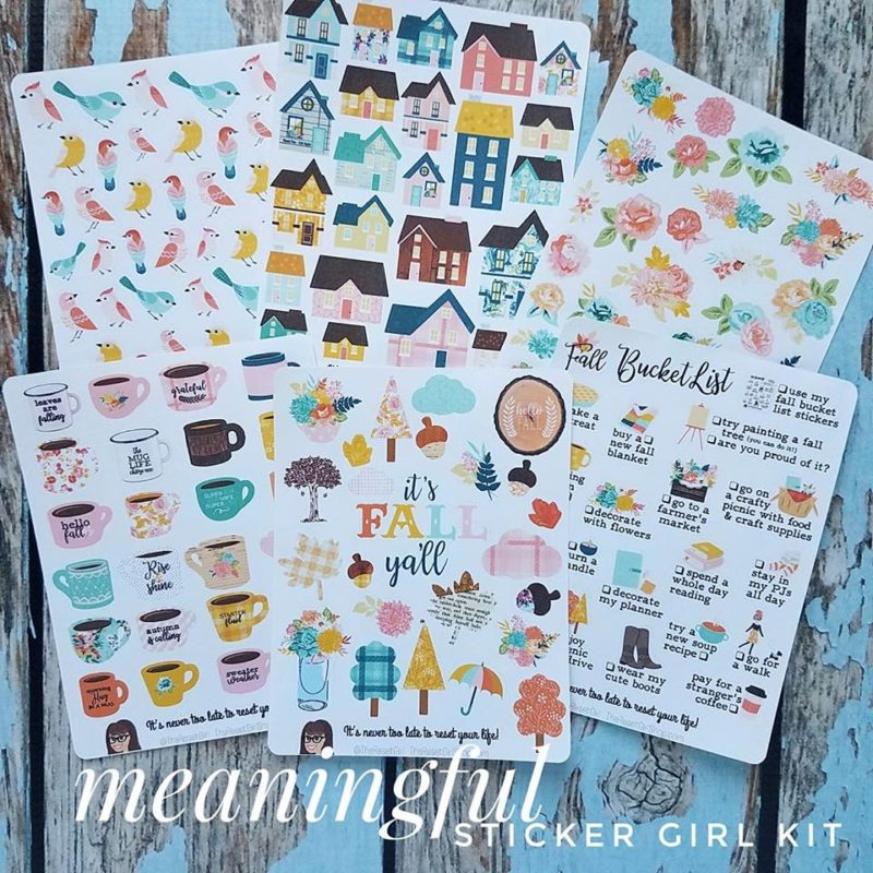Meaningful Sticker Girl Kit