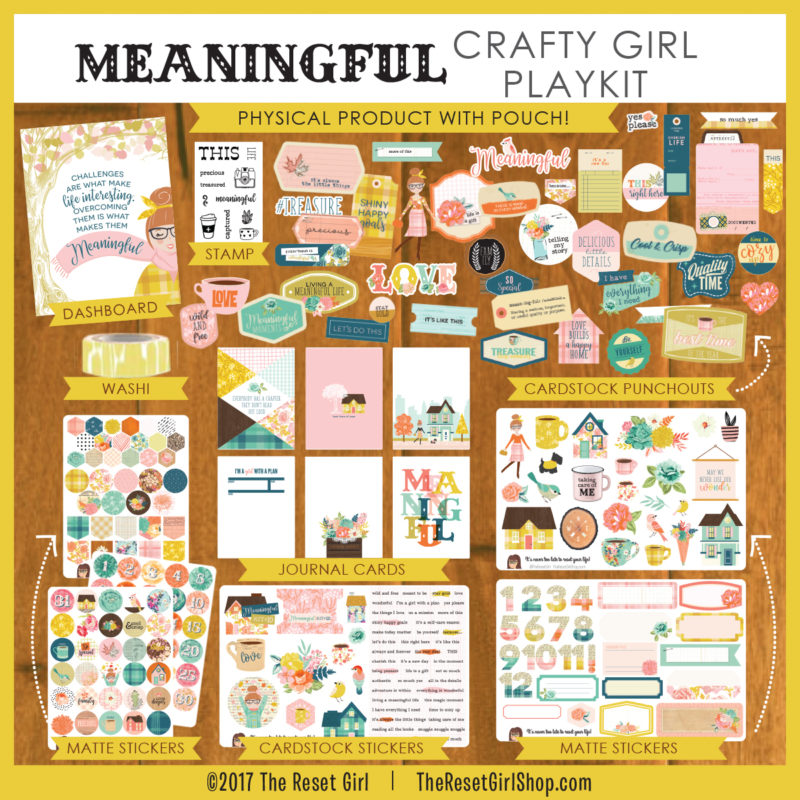 Meaningful Crafty Girl Play Kit