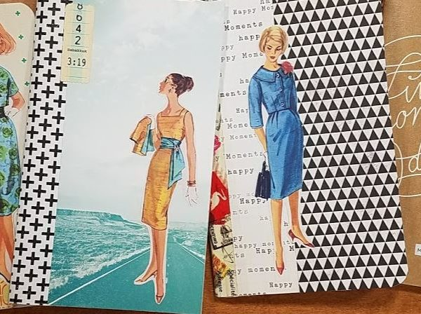 Setting Up a Travelers Notebook – Insert Decorating