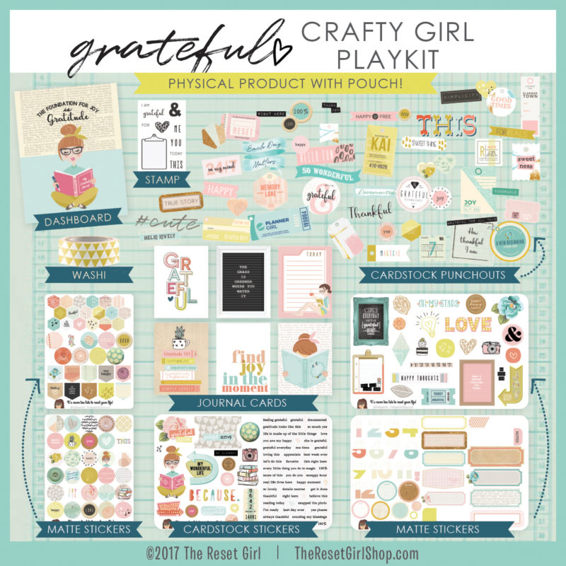 Grateful Crafty Girl Playkit