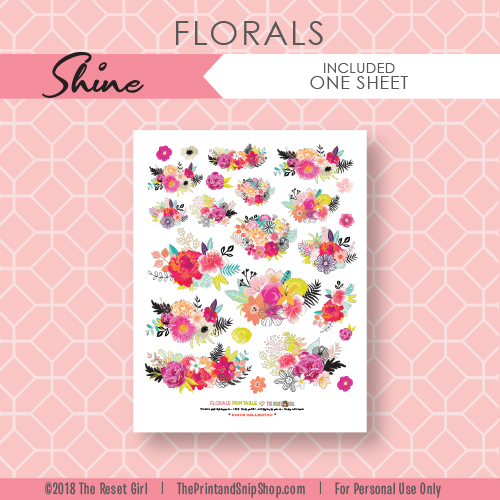 Florals >> Shine Collection
