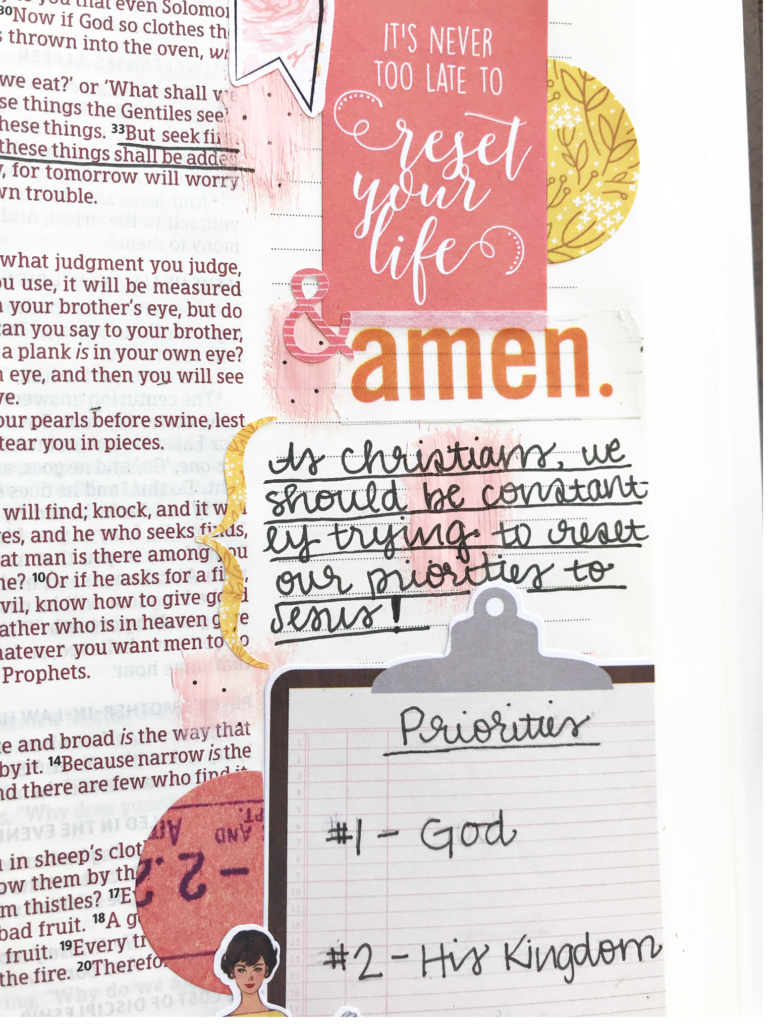 Bible Journaling With Guest Designer Alyssa Duncan