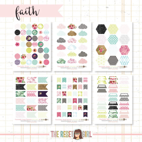 Paper Punch Buffet >> Faith Collection