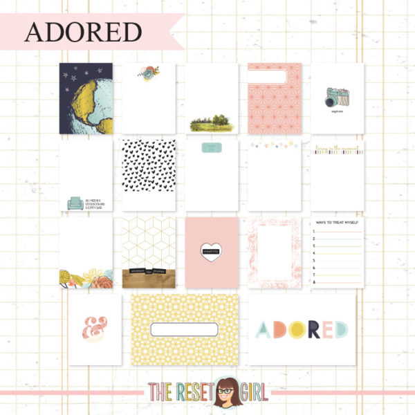 Journal Cards >> Adored Edition