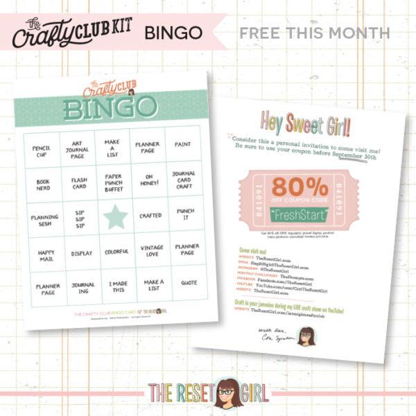 Bingo Card>>Fresh Start