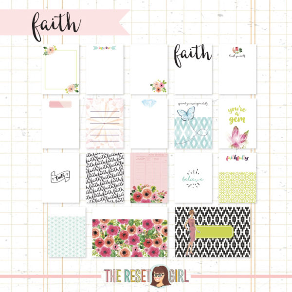 Journal Cards >> Faith Edition