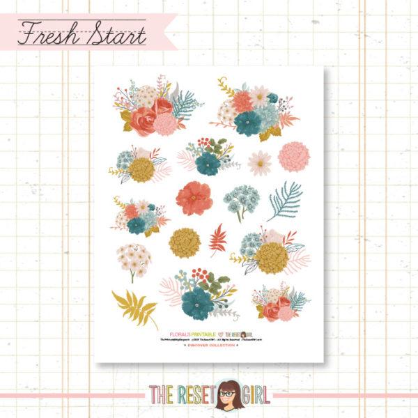 Florals >> Fresh Start Collection