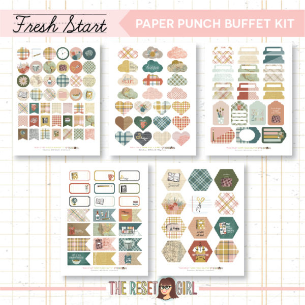 Paper Punch Buffet Kit >> Fresh Start Collection