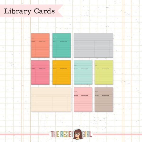 Journal Cards >> Library Designer Cards
