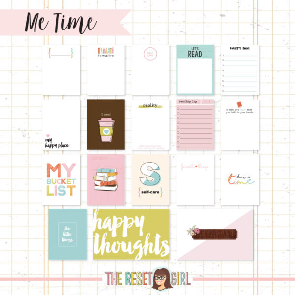 Journal Cards >> Me Time Edition