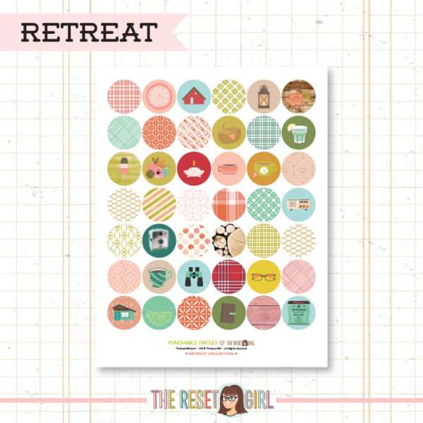 Paper Punch Buffet >> Circles: Retreat Collection
