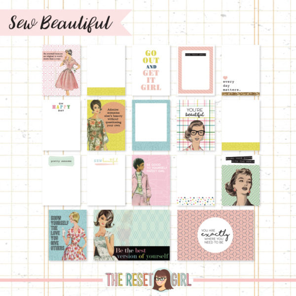 Journal Cards >> Sew Beautiful Edition