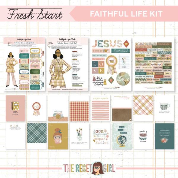 Faithful Life Kit >> Fresh Start Collection