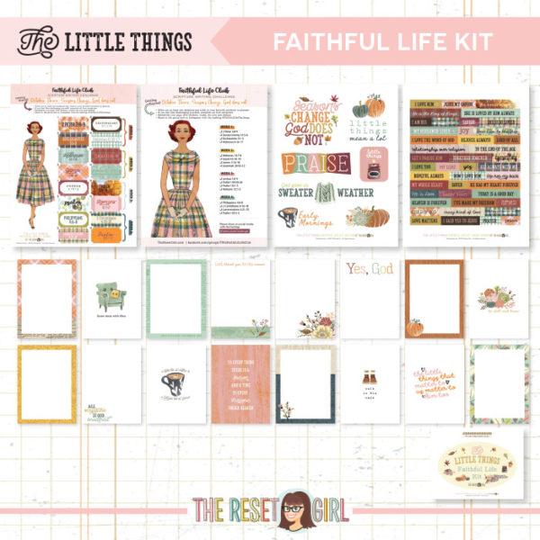 Faithful Life Kit >> The Little Things