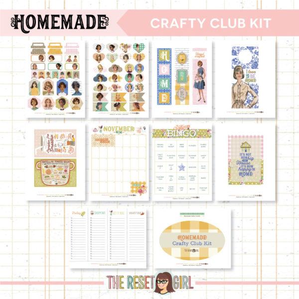 Crafty Club Kit >> Homemade