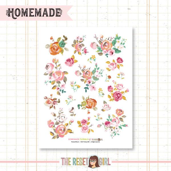 Florals >> Homemade