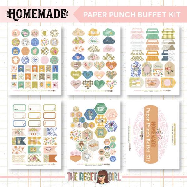 Paper Punch Buffet Kit >> Homemade
