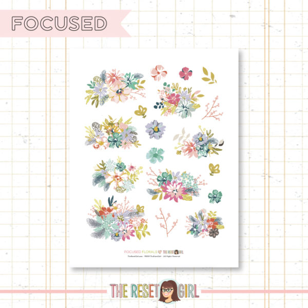 Florals >> Focused