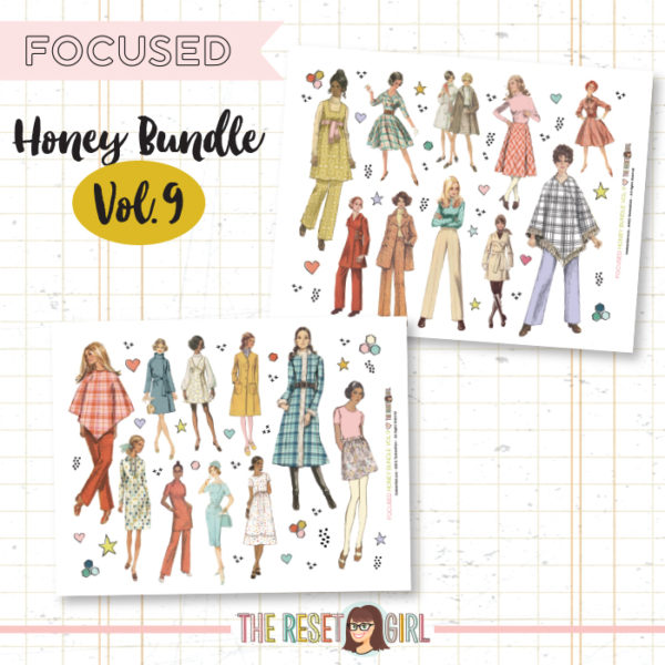 Honey Bundle #9 >> Focused