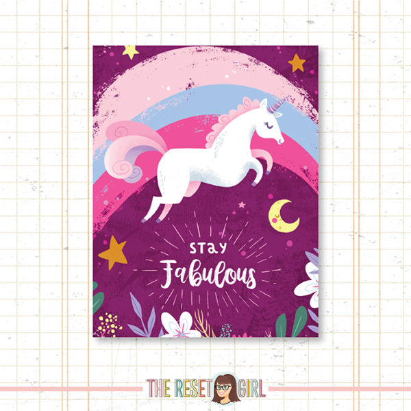 Cover >> Stay Fabulous by Ness Illustration