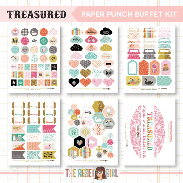 Paper Punch Buffet Kit >> Treasured
