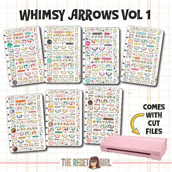 From The Vault > Whimsy Arrows Vol 1 >> Cut Files