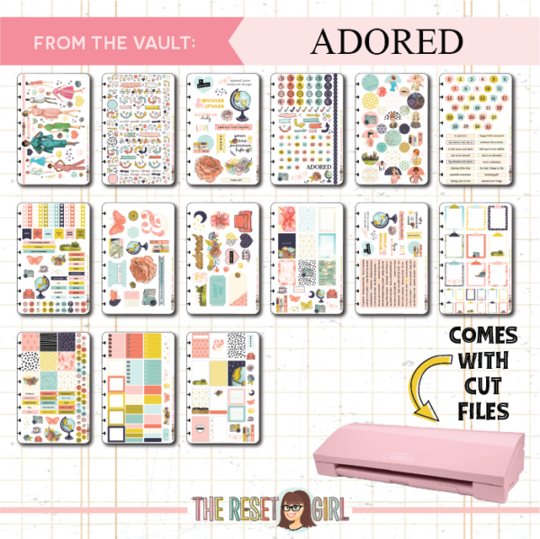 From The Vault: Adored Collection > Digital Version of Our 2017 Kit - Cut Files