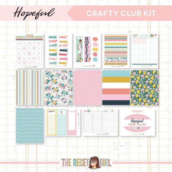 Crafty Club Kit >> Hopeful