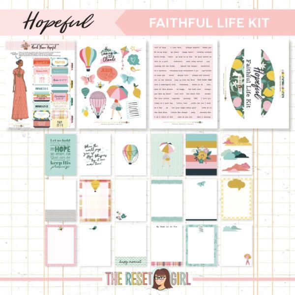 Faithful Life Kit >> Hopeful
