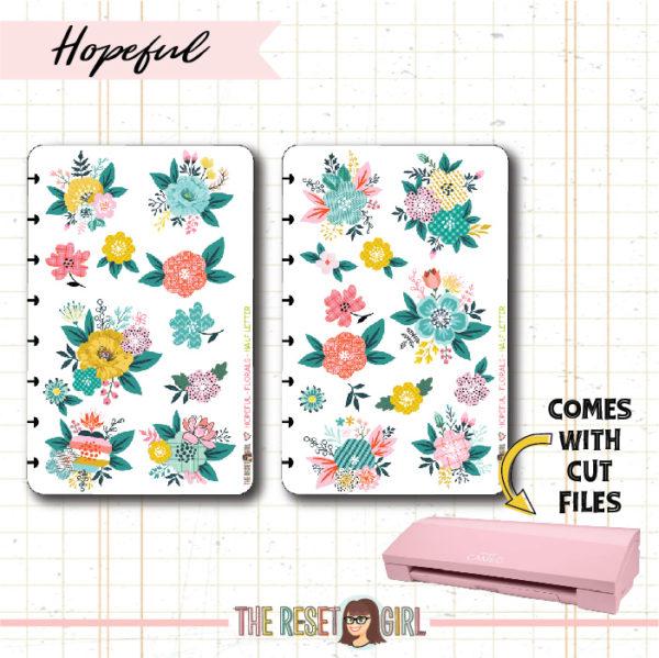Florals >> Hopeful - Cut Files