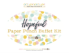 Paper Punch Buffet Kit >> Hopeful