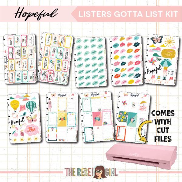 Listers Gotta List Kit >> Hopeful >> Cut Files