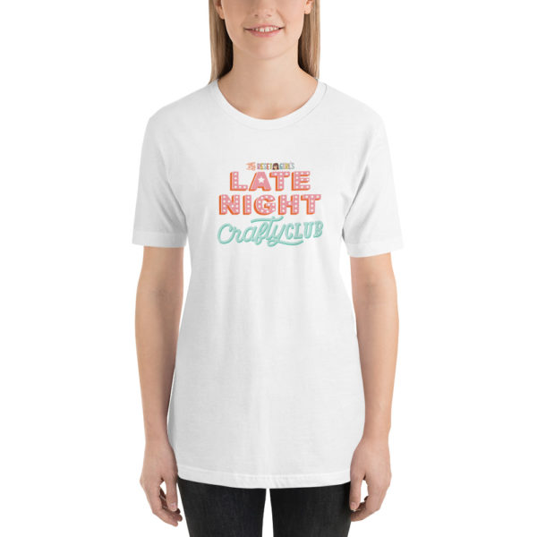 Late Night Crafty Club Short-Sleeve Unisex T-Shirt