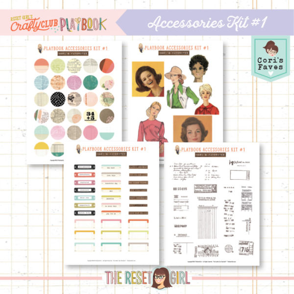 The Crafty Club PlayBook Accessories Kit Vol.1