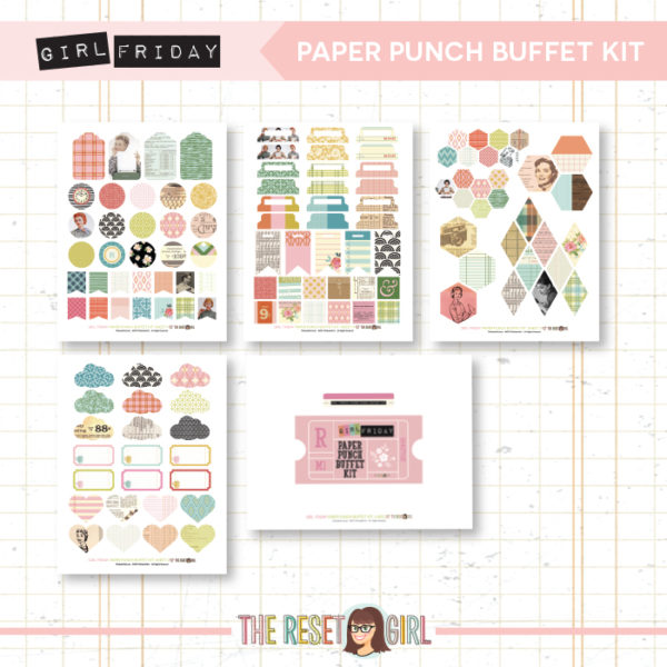 Paper Punch Buffet Kit >> Girl Friday