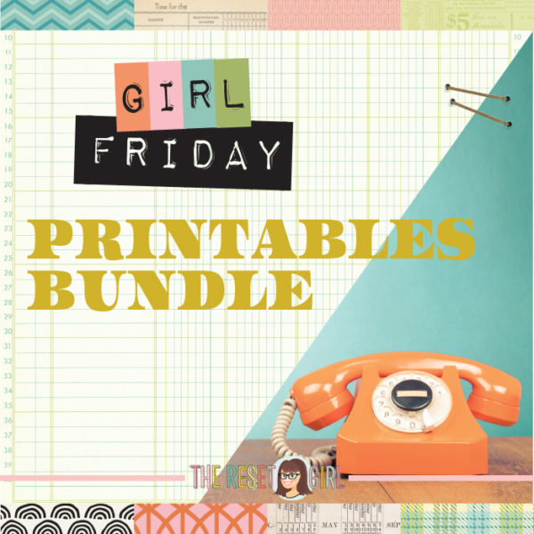 Girl Friday Printable Bundle