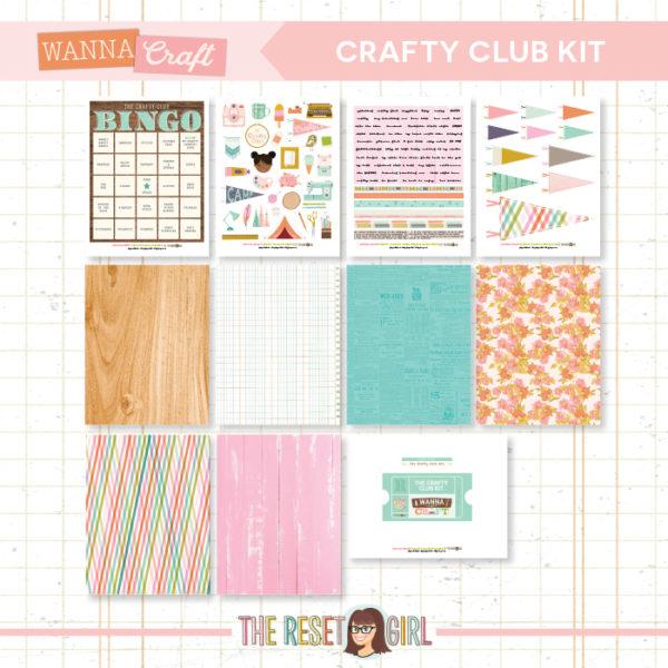 Crafty Club Kit >> Wanna Craft