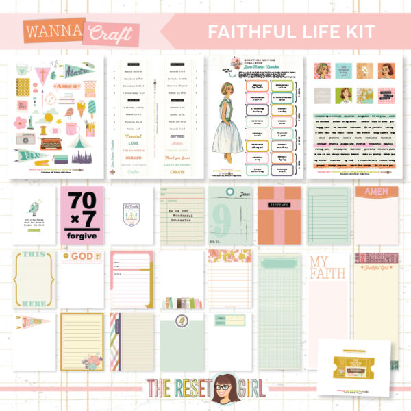 Faithful Life Kit >> Wanna Craft