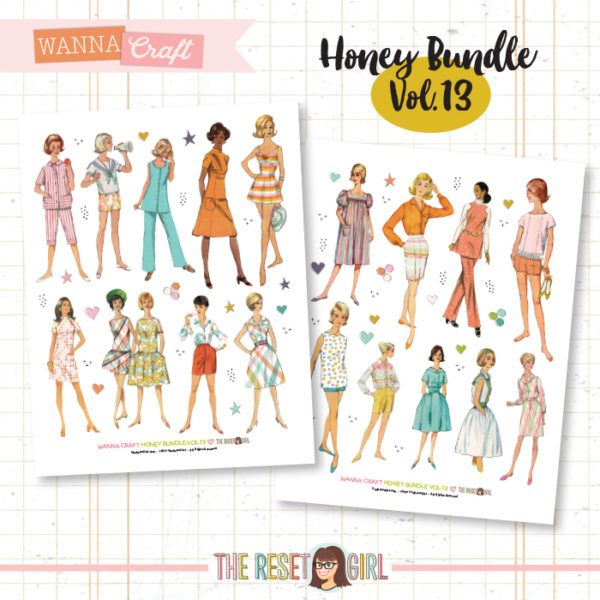 Honey Bundle #13 >> Wanna Craft